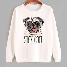 """Свитшот """"Stay cool!"""""""