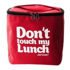 """Термо сумочка для ланча """"Don`t touch"""" (красная)"""
