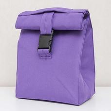 Термо сумочка для ланча Lunch bag, фиолетовая
