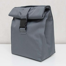 Термо сумочка для ланча Lunch bag, серая