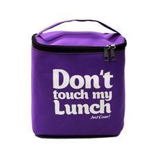 "Термо сумочка для ланча ""Don`t touch"", фиолетовая"