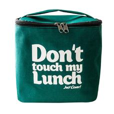 "Термо сумочка для ланча ""Don`t touch"", зелёная"
