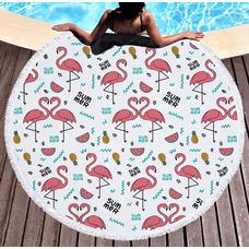 """Пляжный коврик """"Фламинго Summer"""""""