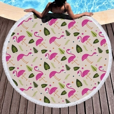 """Пляжный коврик """"Летний Фламинго"""""""