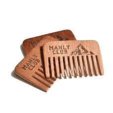 Дубовый гребень MANLY COMB (для бороды и не только)