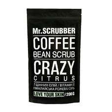 Кофейный скраб для тела и лица Crazy Citrus Scrub - цитрус