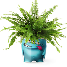 "Кашпо MyFacepot ""Plant Monster (blue)"""