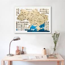 Скретч-карта Украины My Map Ukraine edition