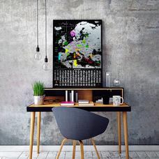 Cкретч-карта Европы My Map Europe edition