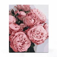 """Картина по номерам """"Пионовидные розы"""""""