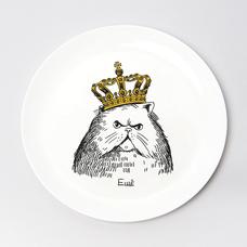 """Тарелочка """"Кот в короне"""""""