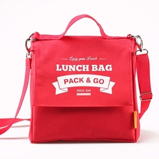 "Термо сумочка для ланча ""Lunch Bag (Size L+)"", красная"