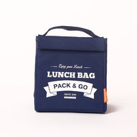 "Термо сумочка для ланча ""Lunch Bag (Size M)"", синяя"
