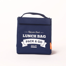 "Термо сумочка для ланча ""Lunch Bag (Size M)"", синяя"