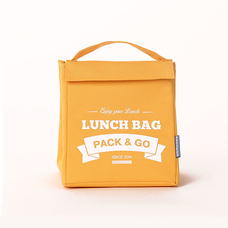 "Термо сумочка для ланча ""Lunch Bag (Size M)"", желтая"