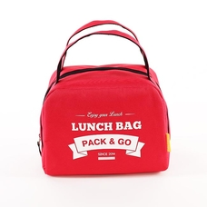 "Термо сумочка для ланча ""Lunch Bag (Zip)"", красная"