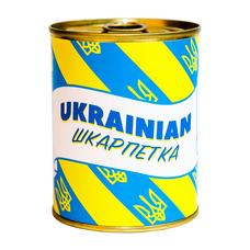 """Носки-консерва """"Ukrainian шкарпетка"""""""