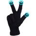 """Перчатки для сенсорных экранов """"iGlove"""", чёрный"""