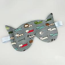 """Маска для сна """"Коты правят миром"""""""