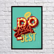 """Постер """"Do your best"""""""