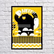 """Постер """"Heeey!"""""""