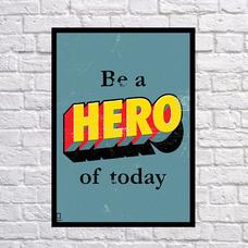"""Постер """"Hero"""""""