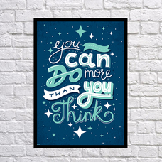 "Постер ""You can do"""
