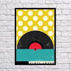 "Постер ""Vinyl lover"""