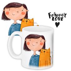 """Кружка """"Forever love"""""""