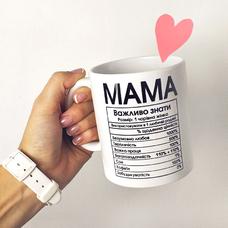 """Кружка """"Мама"""""""
