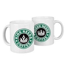 "Парные кружки ""Need coffee"""