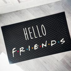 """Коврик придверный """"Hello friends"""""""