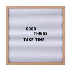 Мотивационная доска с буквами