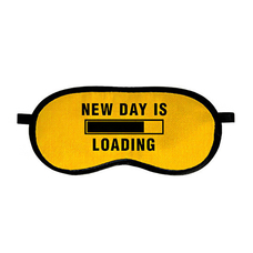 "Маска для сна ""New day is loading"""