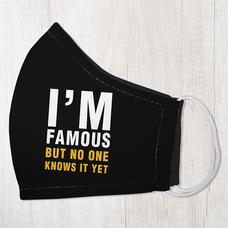 """Защитная маска """"I`m famous"""""""