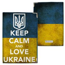 "Обложка на паспорт ""Keep calm"""