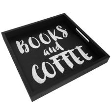 "Поднос с ручками ""Books and coffee"""