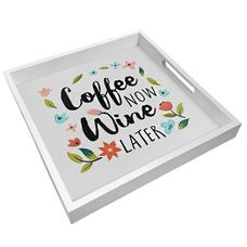 """Поднос с ручками """"Wine and coffee"""""""