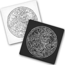 """Подставки под чашки """"Star map"""""""