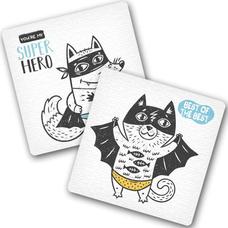 """Подставки под чашки """"Super Hero"""""""