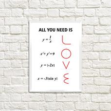 """Постер """"Love"""""""