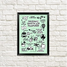 "Постер ""Секрети для подорожей"""