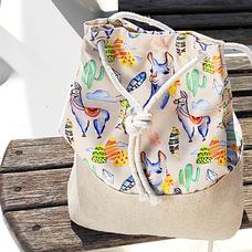 "Рюкзак из ткани ""Ламы"""