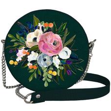 """Круглая сумочка """"Flowers"""""""