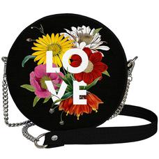 "Круглая сумочка ""Love"""