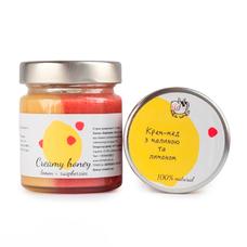 """Медовый десерт """"Immunity"""", малина и лимон"""