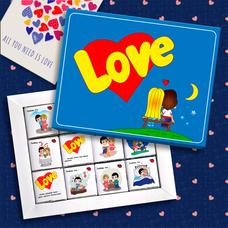 "Шоколадный набор ""Love is"", 60 г"