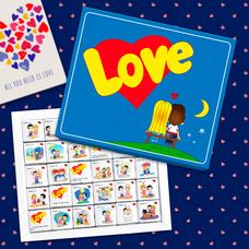 "Шоколадный набор ""Love is"", 150 г"