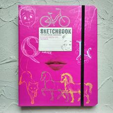 Sketchbook. Візуальний експрес-курс рисування, рожевий - укр.