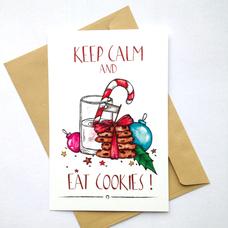 """Открытка """"Cookies"""""""